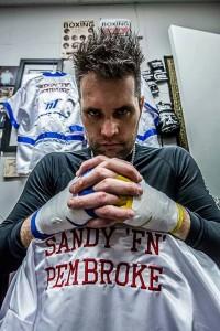 Sandy Pembroke 2 x World Title Kickboxing Champion