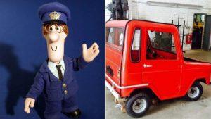 Postman Pat Van Corkers Crisps
