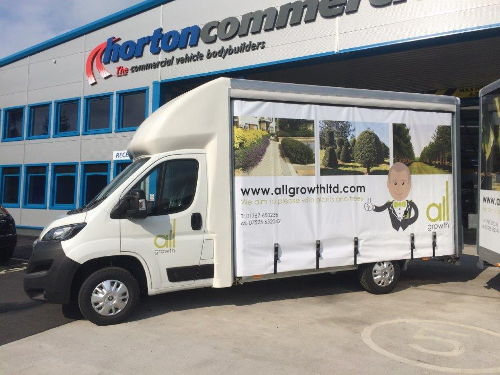 allgrowth vans Horton Commercial