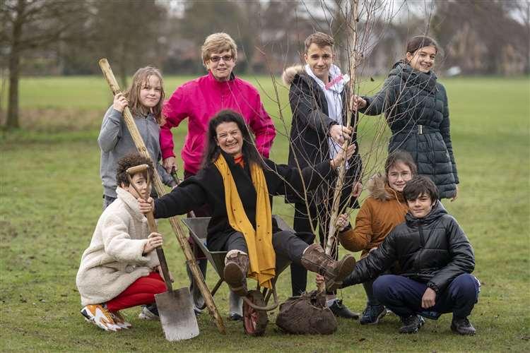 Bridget Smith Three Free Trees South Cambs